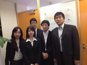 2013年11月1日研究生受入開始