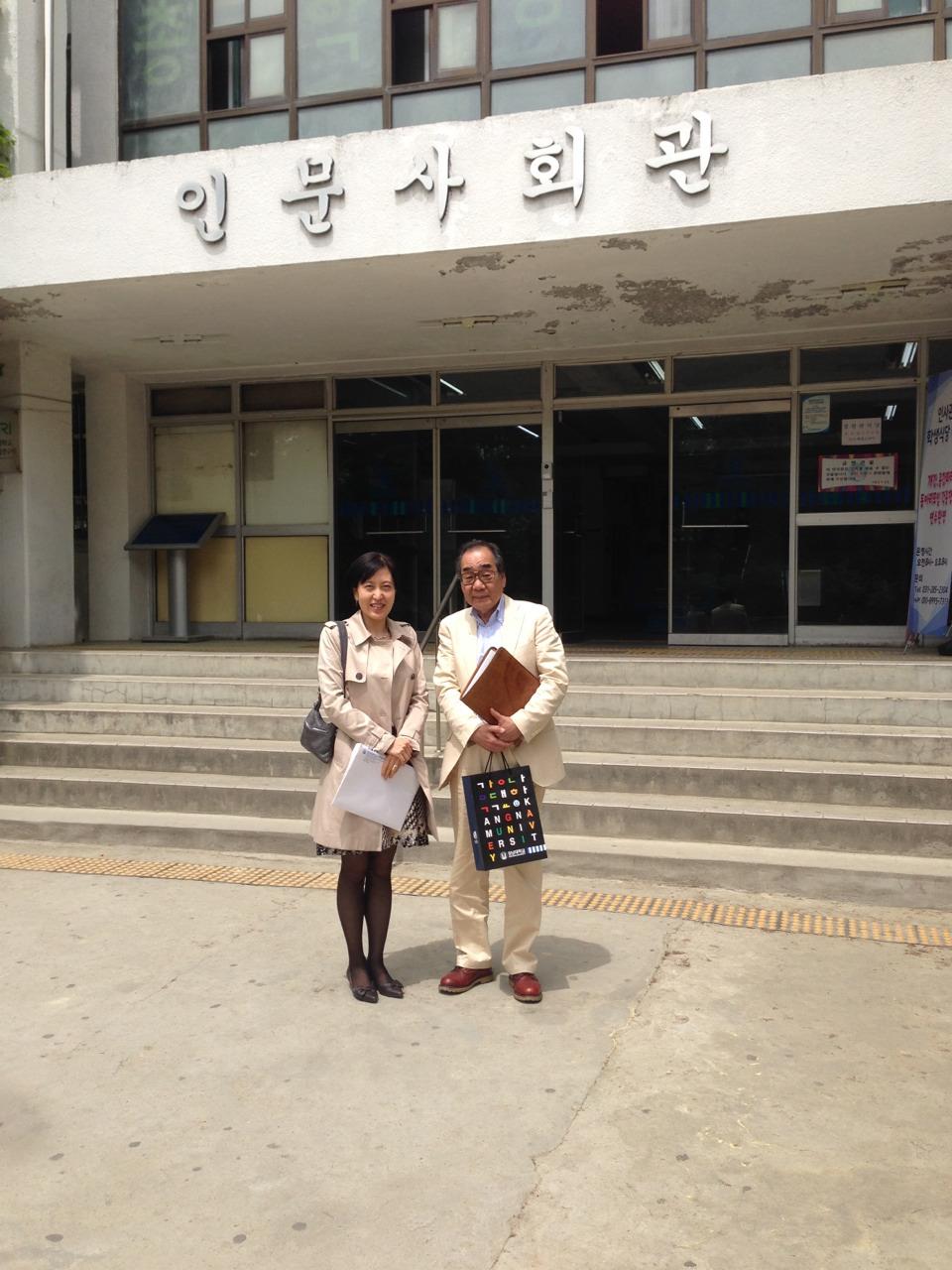 韓国採用1(李先生と学校前)