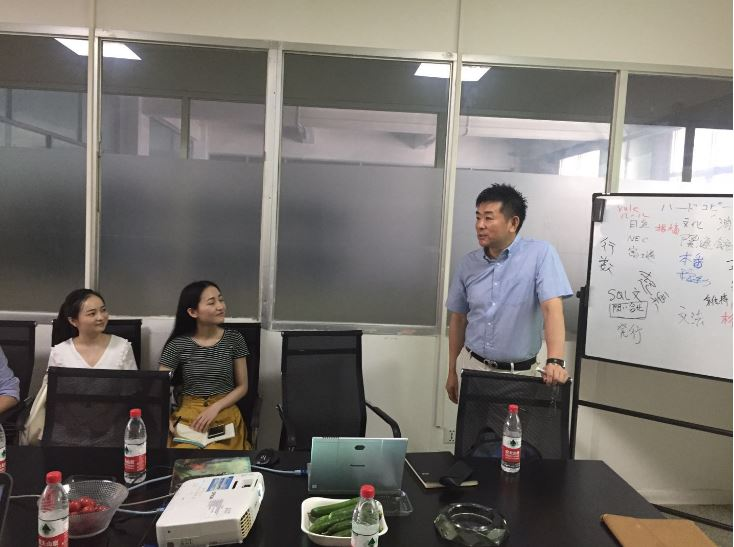 西安関連会社の日本向けプロジェクト研修視察