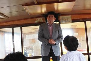 2014年度新入社員入社式及び屋形舟貸切 花見大会の実施in東京湾