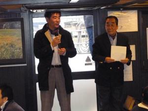 2013年度全体会議・屋形舟貸切お花見大開の開催in隅田川