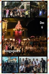 2014年度 社員海外研修兼忘年会の実施 inシンガポール