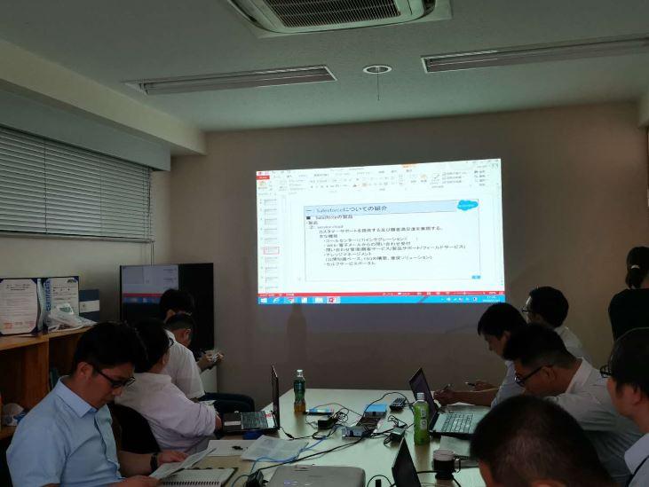 第一回Salesforce勉強会を行いました。